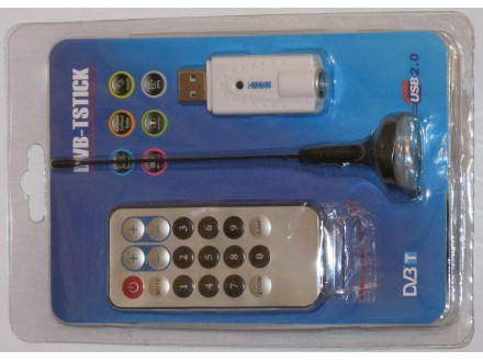 USB tv (RTL-SDR prijemnik) Tuner R820T chipset RTL2832U