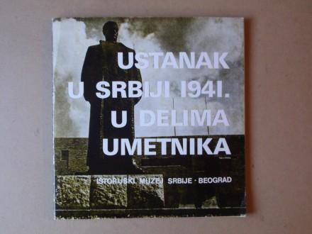 USTANAK U SRBIJI 1941. U DELIMA UMETNIKA