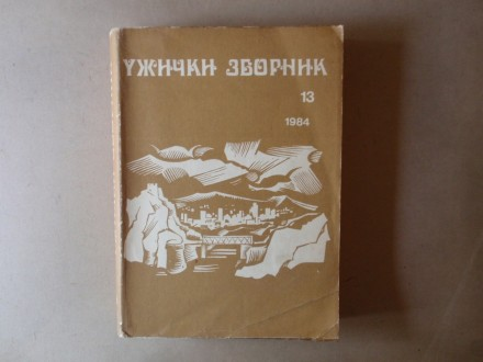 UŽIČKI ZBORNIK 13 / 1984