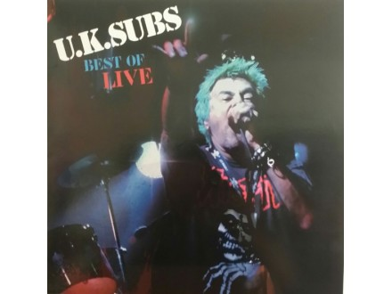 Uk Subs-Best of live