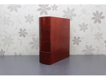 Ukrasna Fioka u obliku knjige 11x35x30cm
