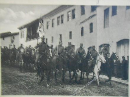Ulaz srpske konjice u Skoplje 1915.(balkanski ratovi)
