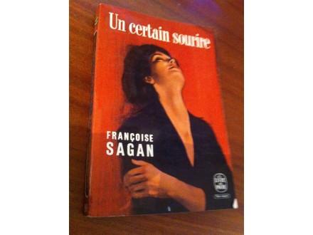 Un certain sourire Francoise Sagan