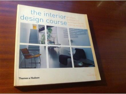 Unutrašnja dekoracija the interior design course