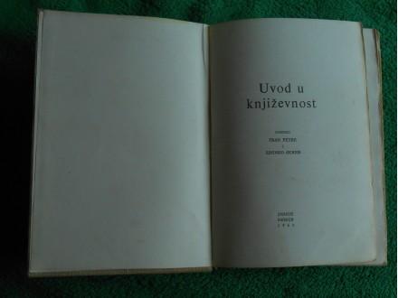 Uvod u književnost Fran Petre, Zdenko Škreb