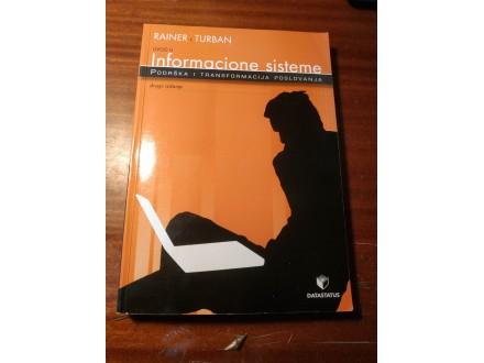 Uvodu u informacione sisteme Rainer Turban
