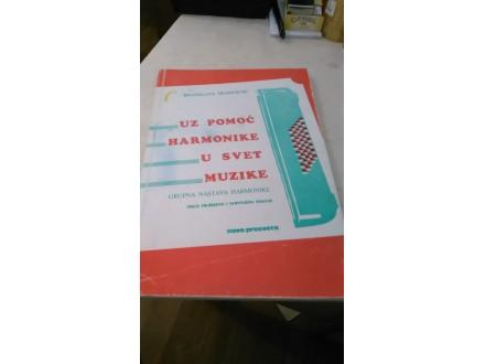 Uz pomoć harmonike u svet muzike Branislava Vranešević
