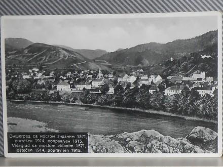 V I Š E G R A D -sa mostom zidanim 1571    (V-80)