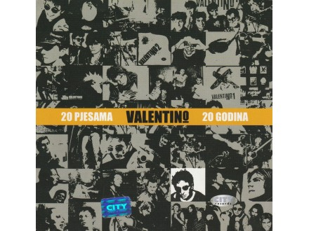 VALENTINO - 20 pjesama 20 godina
