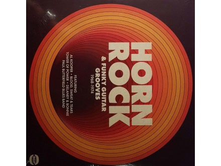 VARIOUS - HORNE ROCK &; FUNKY GUITAR GROOVES - LP