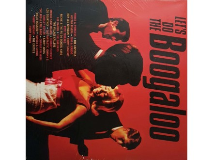 VARIOUS - LETS DO THE BOOGALOO - LP