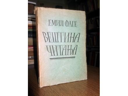 VEŠTINA ČITANJA - Emil Fage (1921)
