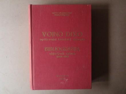 VOJNO DELO BIBLIOGRAFIJA OBJAVLJENIH RADOVA 1949 - 1983