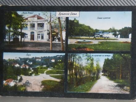 VRNJAČKA BANJA - 4 pogleda    1920/30 (I-60)