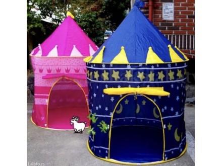 Veliki deciji šator Plavi NOVO