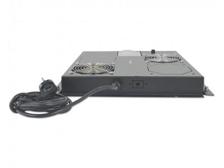 Ventilation Unit 2-Fan za 19` Racks crni (712859)