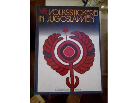 Vez Jugoslavije nemački Volksstickerei in Jugoslawien