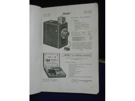 Vintage:Katalog ICA Illustrierte Preisliste photograph