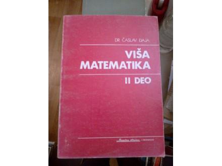 Viša matematika II deo - dr Časlav Đaja