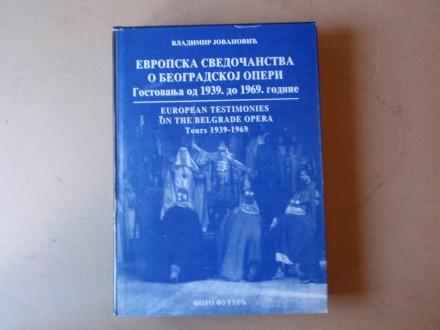 Vladimir Jovanović - EVROPSKA SVEDOČANSTVA O OPERI