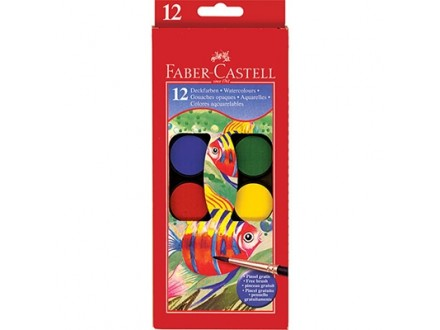 Vodene boje, 1/12 - Faber-Castell