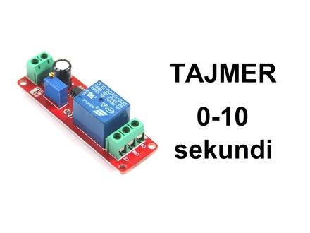 Vremenski rele - tajmer - 0-10 sekundi