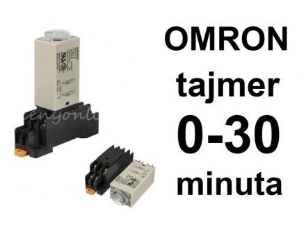 Vremenski rele - tajmer - 0-30 min - 220VAC - OMRON