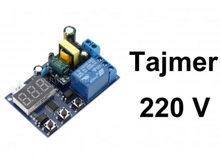 Vremenski rele - tajmer - 0-999 minuta - 220V