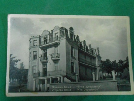 Vrnjačka Banja Vila -Jugoslavija cca 1930.