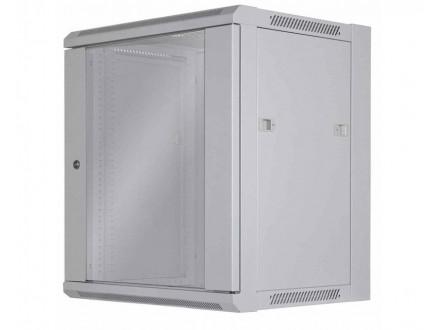 Wallmount Cabinet 12U Rek orman 19` 600d sivi