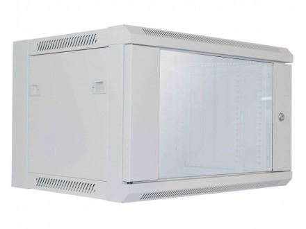 Wallmount Cabinet 6U Rek orman 19` 450d sivi