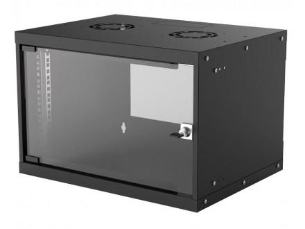 Wallmount Cabinet 6U Rek orman 19` 560d crni