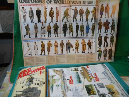 War machine magazine set 1-18 the history of WW -II.