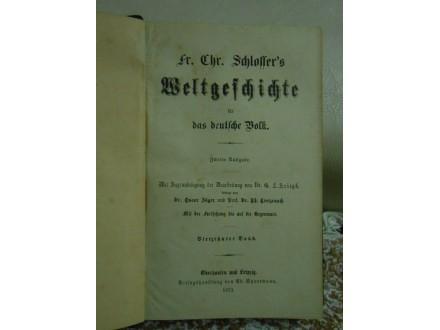 Weltgeschte für das deutsche Volk Nemačka istorija