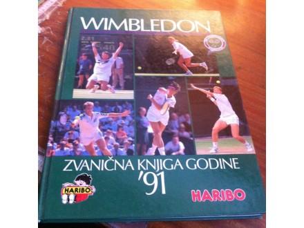 Wimbledon zvanična knjiga godine 91
