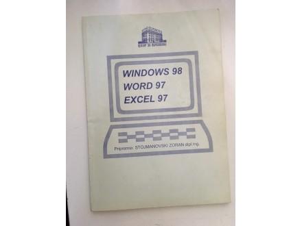 Windows 98, Word 97, Excel 97 - Zoran Stojmanovski