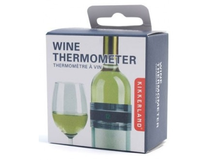 Wine Bottle Thermometer - Kikkerland