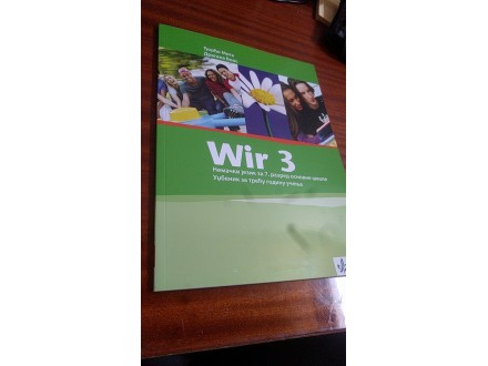 Wir 3 udžbenik Đorđo Mota Dragana Boos