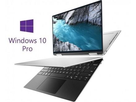 XPS 9310 13.4` 2-u-1 UHD+ Touch i7-1165G7 16GB 512GB SSD Intel Iris Xe Backlit Win10Pro srebrni 5Y5B