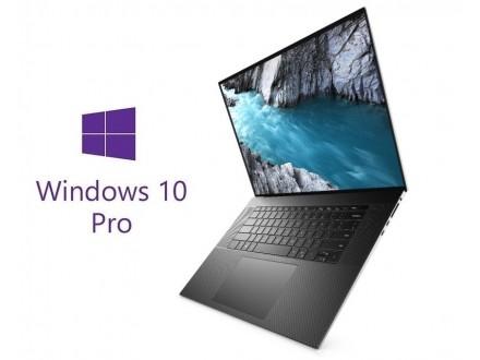 XPS 9700 17` FHD+ 500nits i7-10750H 16GB 1TB SSD GeForce GTX 1650Ti 4GB Backlit FP Win10Pro srebrni 5Y5B