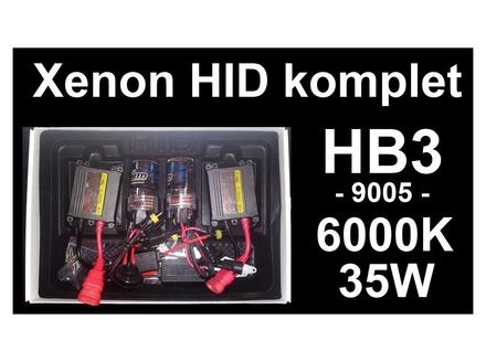 Xenon HB3 komplet - HID - 6000K - 35W - 9005