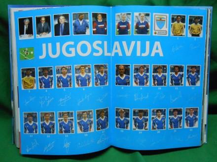 YUGOSLOVENSKA FUDBALSKA REPREZENTACIJA-monografija +CD