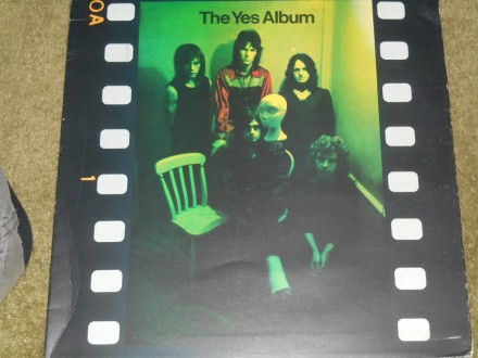 Yes - The Yes Album (UK pres) 5-/5