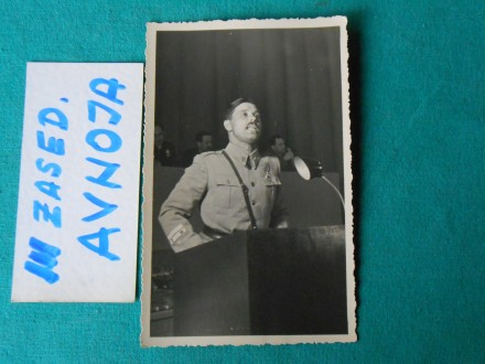 ZASEDANJE-III- AVNOJ-a -AVGUST 1945.g.-/AV-20  /