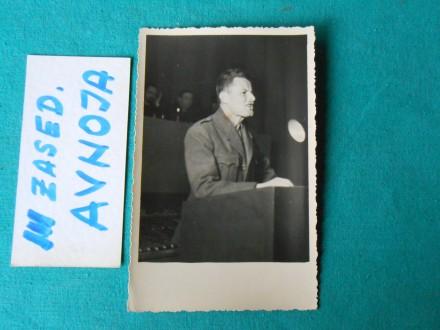 ZASEDANJE-III- AVNOJ-a -AVGUST 1945.g.-/AV-21  /