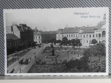 ZRENJANIN -TRG KRALJA PETRA-1930/40 (VI-05)