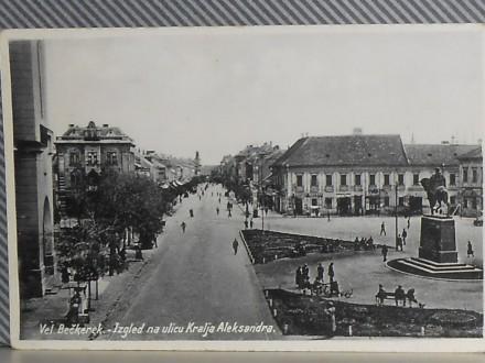 ZRENJANIN - ULICA KRALJA ALEKSANDRA-1930/40 (VI-04)