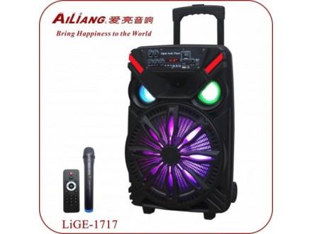 ZVUCNIK Karaoke  RADIO, USB akumulatorski Lige 1717 25W 3.7V; 1800mAh