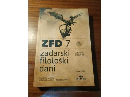 Zadarski filološki dani zbornik radova 7 2019