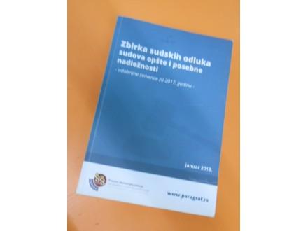 Zbirka sudskih odluka sudova opšte i posebne nadležnost